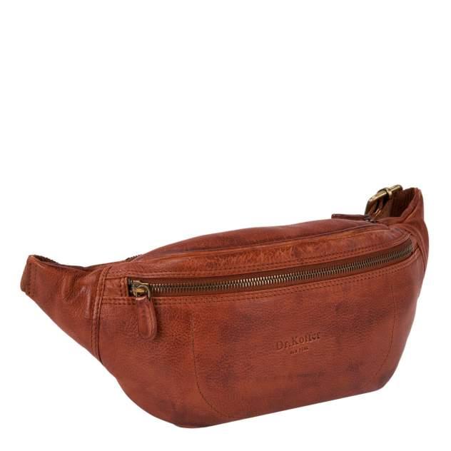 Поясная сумка мужская Dr.Koffer M402736-248 коричневая