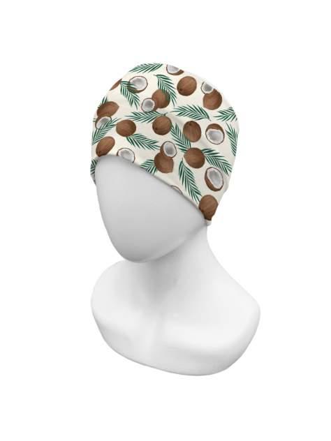 Повязка на голову sfer.tex женская Кокосы молочный