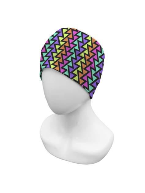 Повязка на голову sfer.tex женская Геометрия яркий