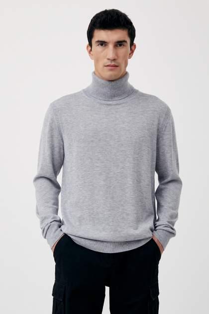 Водолазка мужская Finn Flare BAS-20105,  серый