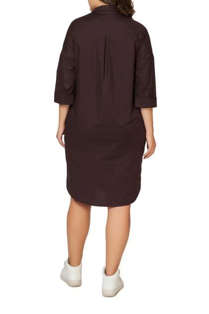 Платье женское OLSI 1905040_1 коричневое 56 RU