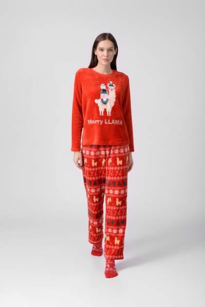 Пижама женская Modis M202U00492R523F04 красная 44