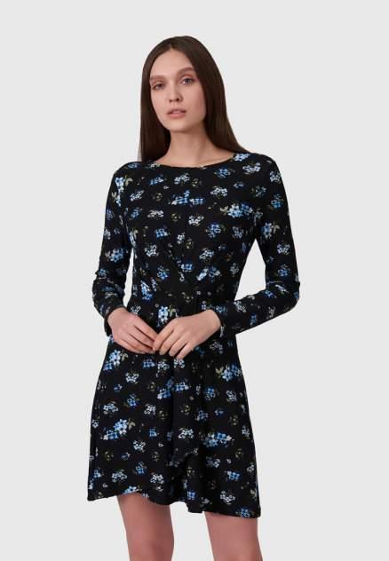Повседневное платье женское Modis M202W00557S642F75 черное 46-48