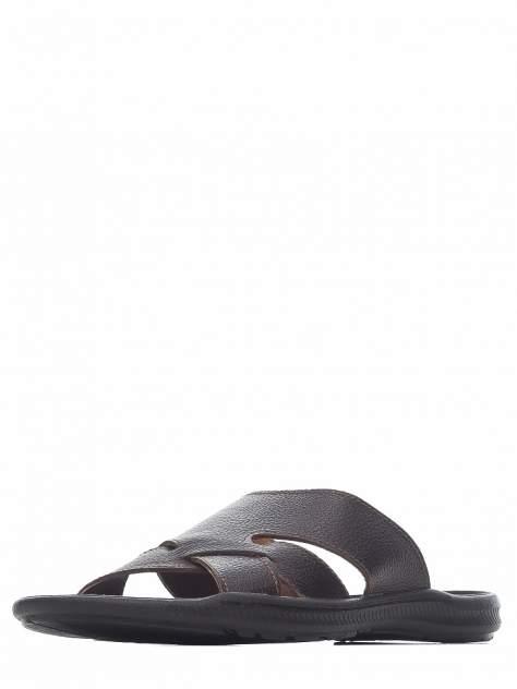 Шлепанцы мужские quattrocomforto 900-245-AH2C1 коричневые 42 RU