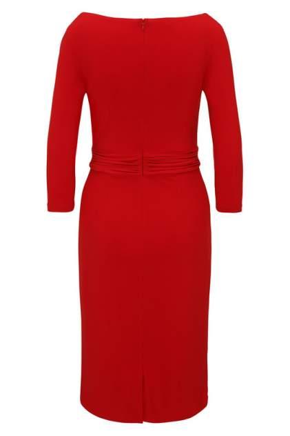 Платье женское Apart 39505 красное 54 DE