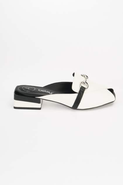 Шлепанцы Betsy 917037/01, белый