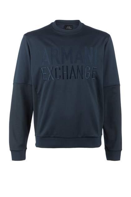 Свитшот мужской Armani Exchange 3HZMFK ZJ7CZ синий XXL