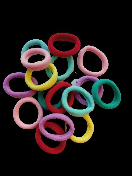 Набор резинок для волос Ассорти Duolaimei 15 шт цвет в ассортименте