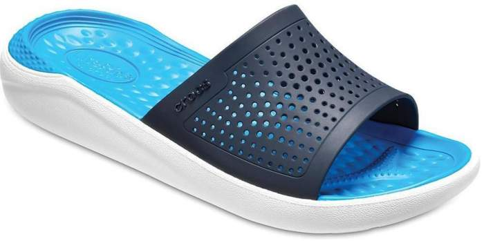 Сланцы Crocs Literide Slide Navy/White 41-42