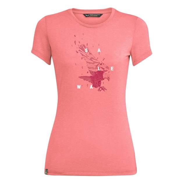 Спортивная футболка Salewa Eagle Figure Dri-Release® Women's, розовый