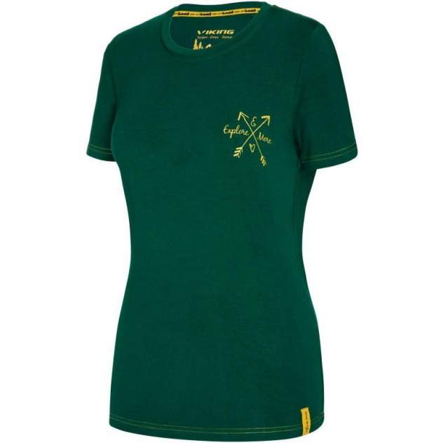 Спортивная футболка Viking Bamboo Light, зеленый