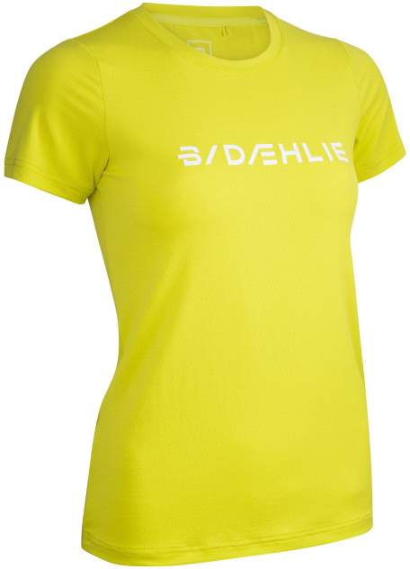 Спортивная футболка Bjorn Daehlie T-Shirt Focus Wmn, желтый