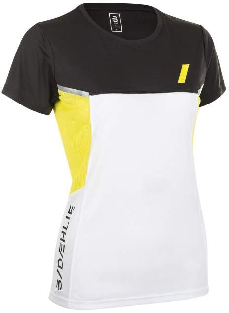 Футболка Bjorn Daehlie T-Shirt Endorfin Wmn, черный, белый