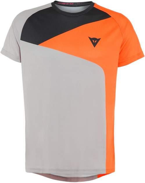 Футболка Dainese Hg Tee 3, gray/orange, XXL