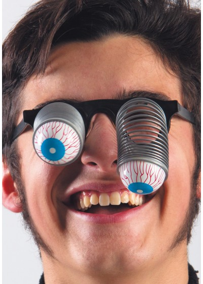 Очки с выпадающими глазами цв.разноцветный АРТЭ 5208