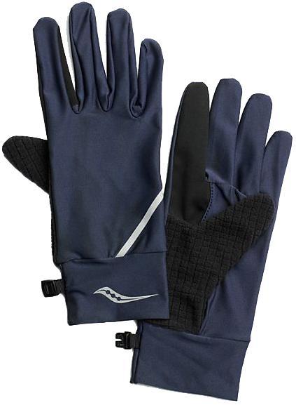 Мужские перчатки Saucony Fortify Liner Gloves, синий