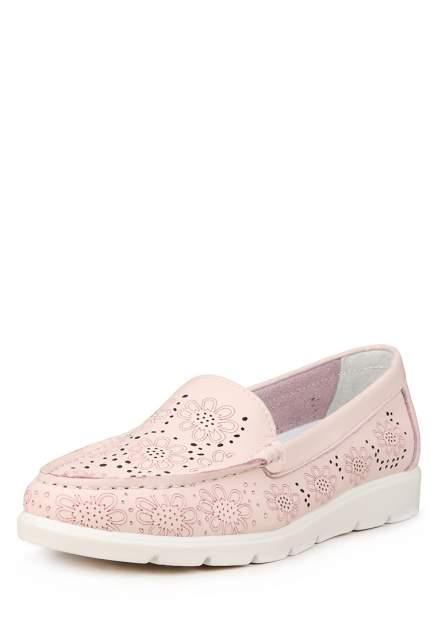 Мокасины женские Alessio Nesca 710018845, розовый