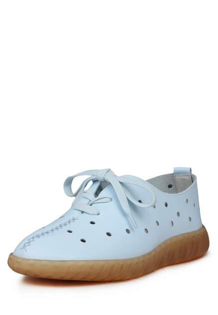 Полуботинки женские Alessio Nesca Comfort K0647LC-1B голубые 40 RU