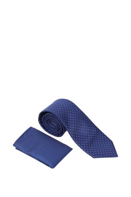 Комплект галстук+платок мужской Kanzler 20S-TIESET09-UL/90 синий