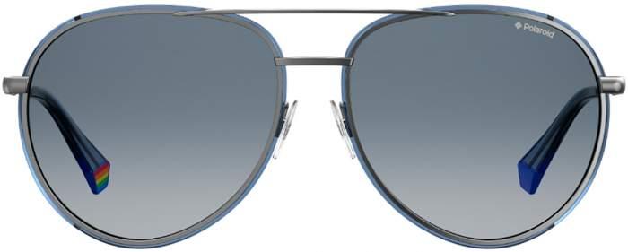 Солнцезащитные очки женские Polaroid PLD 6116/G/S серые