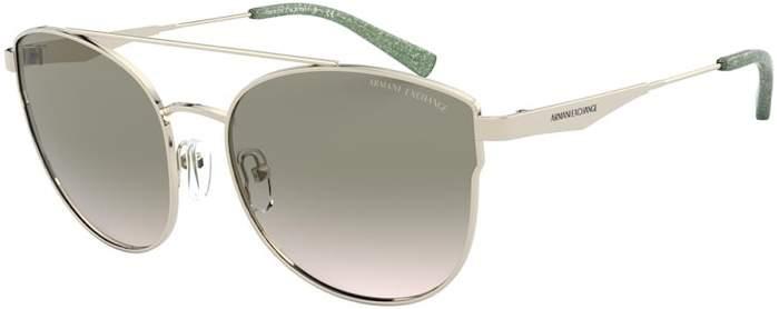 Солнцезащитные очки женские Emporio Armani EXCHANGE 0AX 2032S серые