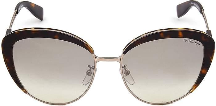 Солнцезащитные очки женские TRUSSARDI 299 серые