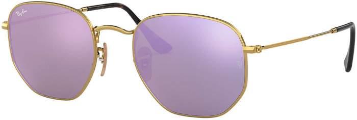 Солнцезащитные очки женские Ray Ban 0RB3548N розовые/золотистые