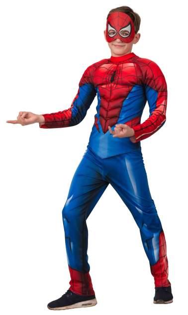 Карнавальный костюм Батик, цв. синий, красный