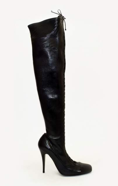 Ботфорты женские Gianmarco Lorenzi 71724 черные 36 RU