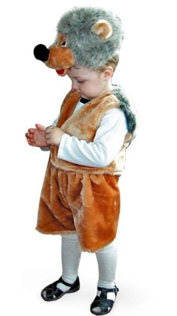 Карнавальный костюм Батик, цв. серый, коричневый