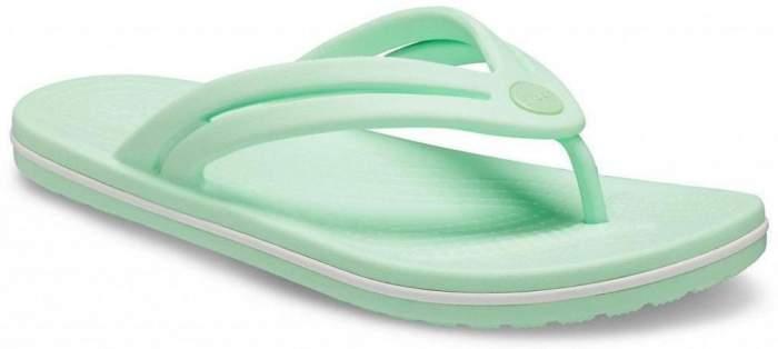 Сланцы Crocs Crocband Flip W Neo Mint 39-40