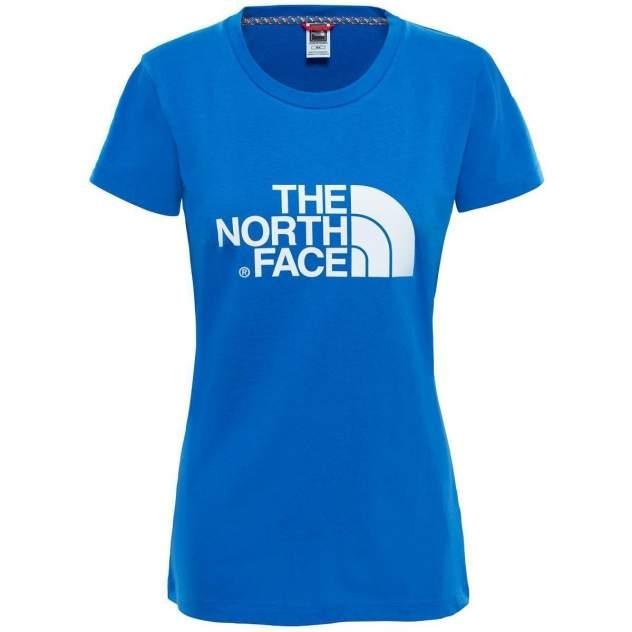 Футболка The North Face W S/S Easy Tee Turkish Sea, синий