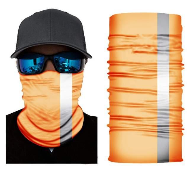 Шарф-труба мужской Skull bf7003 оранжевый