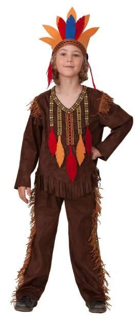 Карнавальный костюм Батик, цв. коричневый