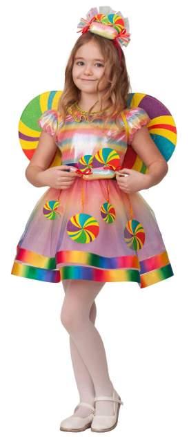 Карнавальный костюм Батик, цв. разноцветный