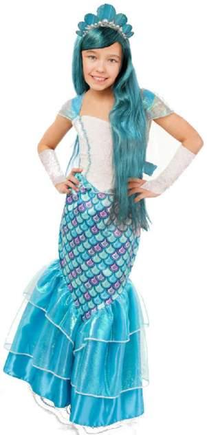 Карнавальный костюм Батик, цв. голубой