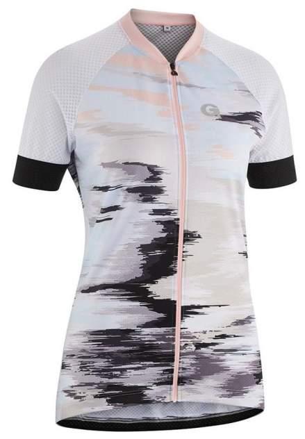 Спортивная футболка Gonso Mezzana Da-Radtrikot-1/2-Fz, белый