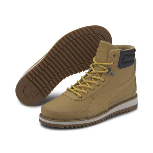 Мужские ботинки PUMA Desierto v2, коричневый