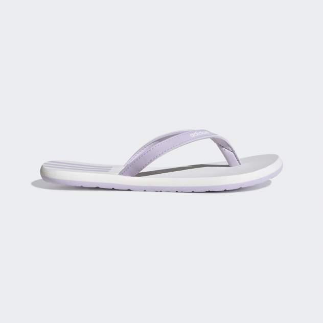 Шлепанцы Adidas Eezay Flip Flop, белый