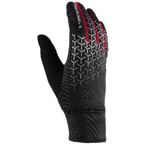 Мужские перчатки Viking Orton, черный, белый, красный
