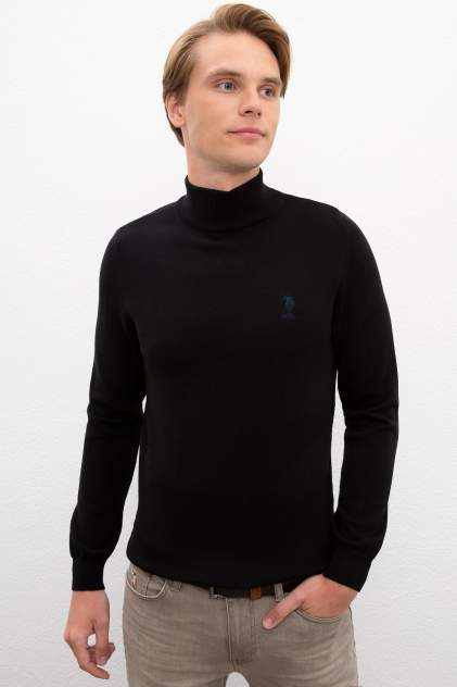 Водолазка мужская U.S. POLO Assn. G081GL0TK0YBS-SK20,  черный