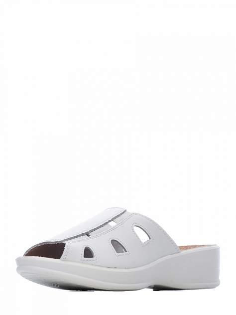 Сабо женские ZENDEN comfort 43107-00104(08) белые 38 RU