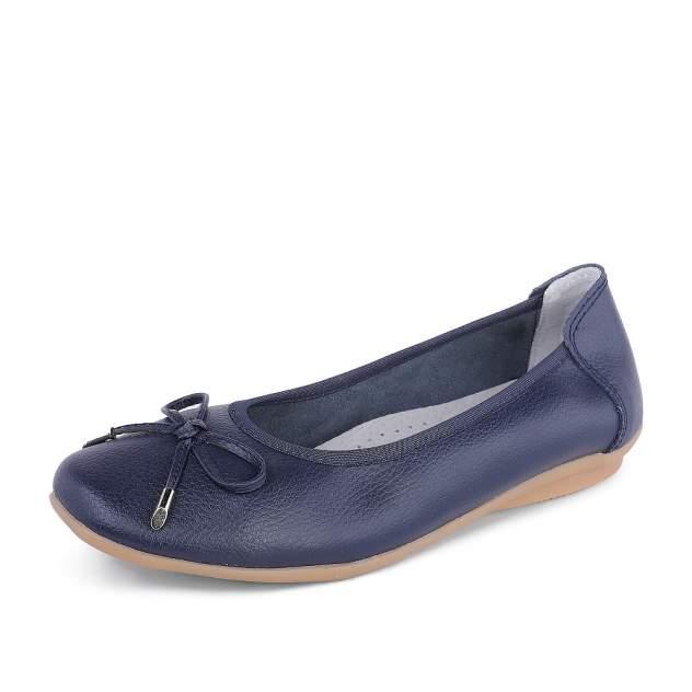 Балетки женские ZENDEN comfort 40-32WT-101Z1 синие 39 RU