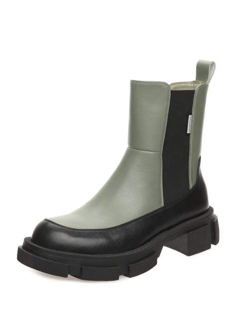 Ботинки женские MAKFINE 51MK-72-02A2AH, черный