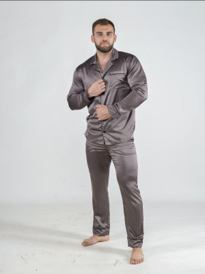 Мужские домашние домашний комплект Малиновые Сны VRY145, коричневый