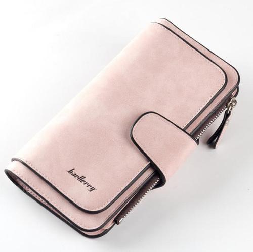Портмоне женское Baellerry Classic бежевое/розовое