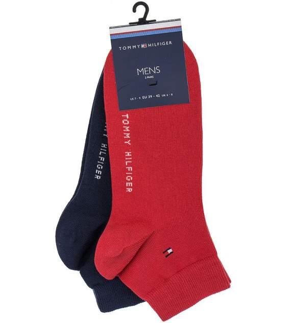Набор носков мужских Tommy Hilfiger 342025001 красных 43-46 US