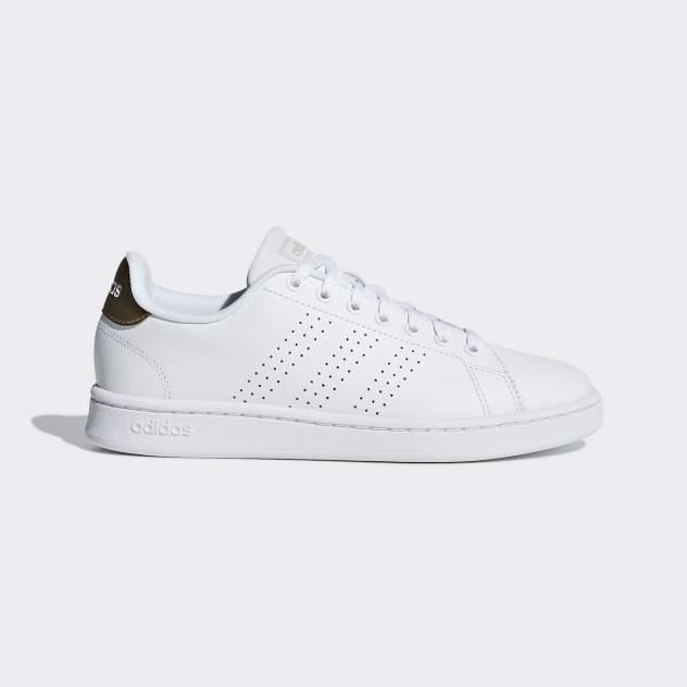 Кроссовки женские Adidas ADVANTAGE FTWWHT/FTWWHT/COPPMT, белый