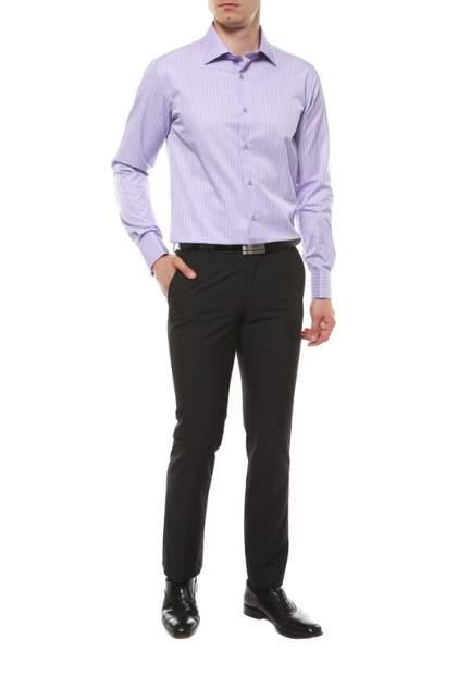 Рубашка мужская IR.LUSH 204Z фиолетовая XL(43-44)