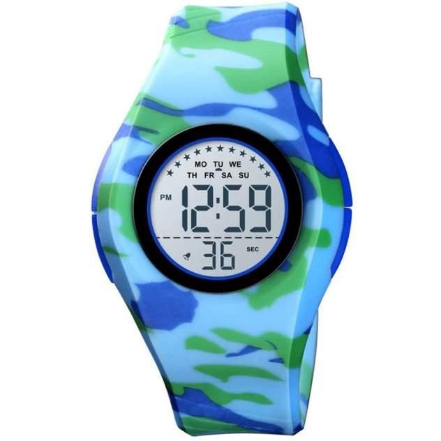 Часы детские SKMEI 1556 Синий камуфляж